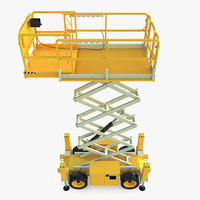 Engine Powered Scissor Lift JLG 260MRT