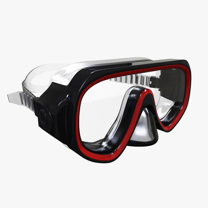 3d diving model