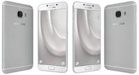 3d model samsung galaxy c5 silver