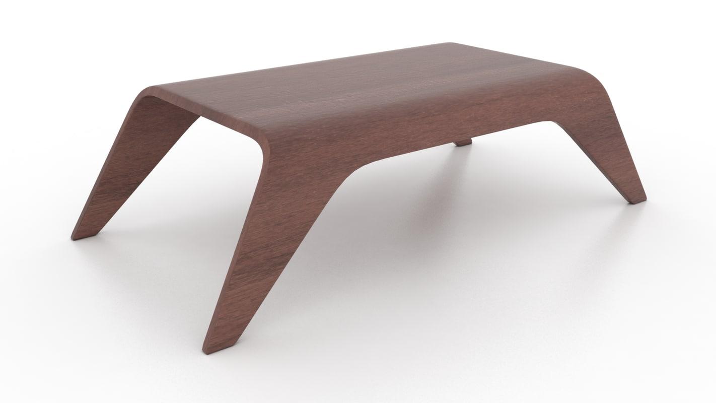 3d model pepe coffee table