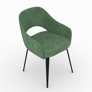 armchair interior 3d model