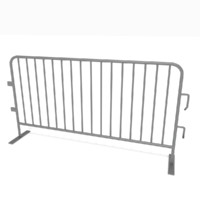 3d crowd barrier