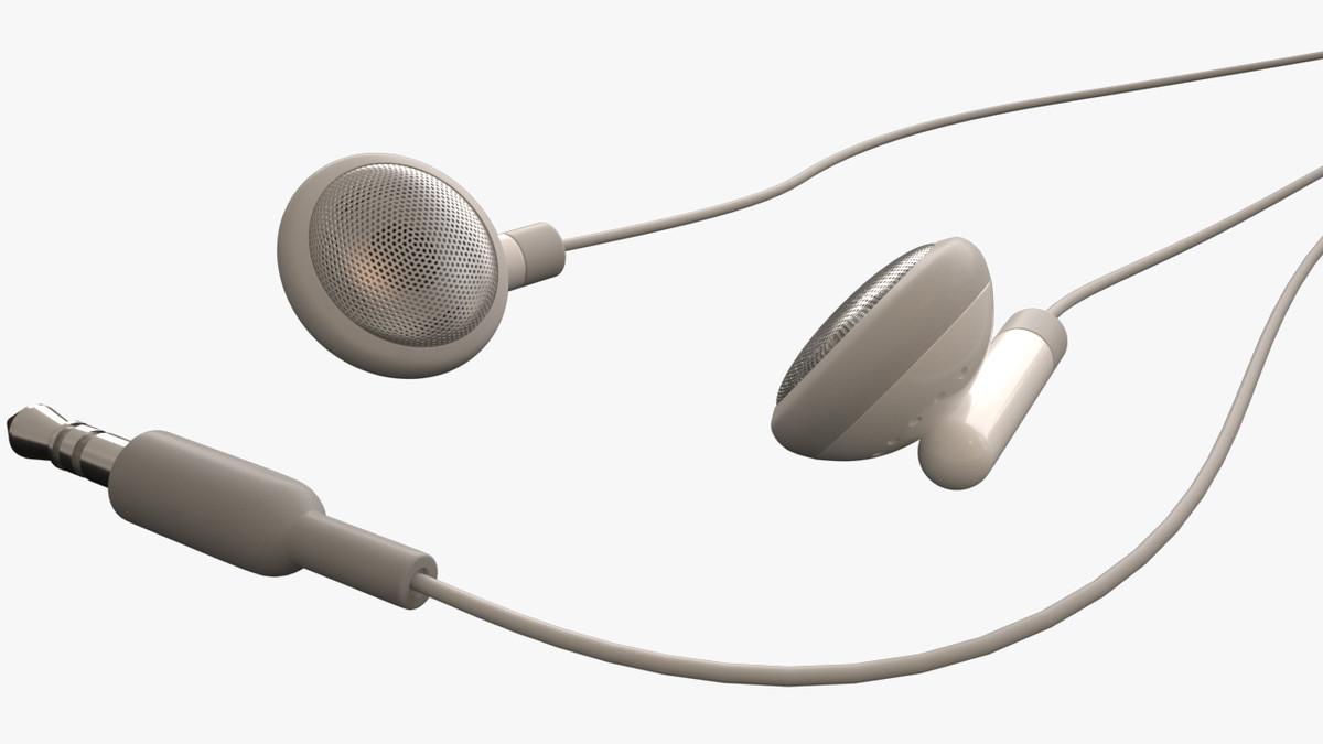 ear buds 3d max