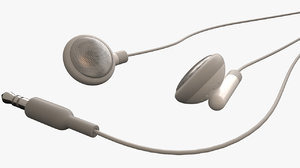 ear buds 3d max