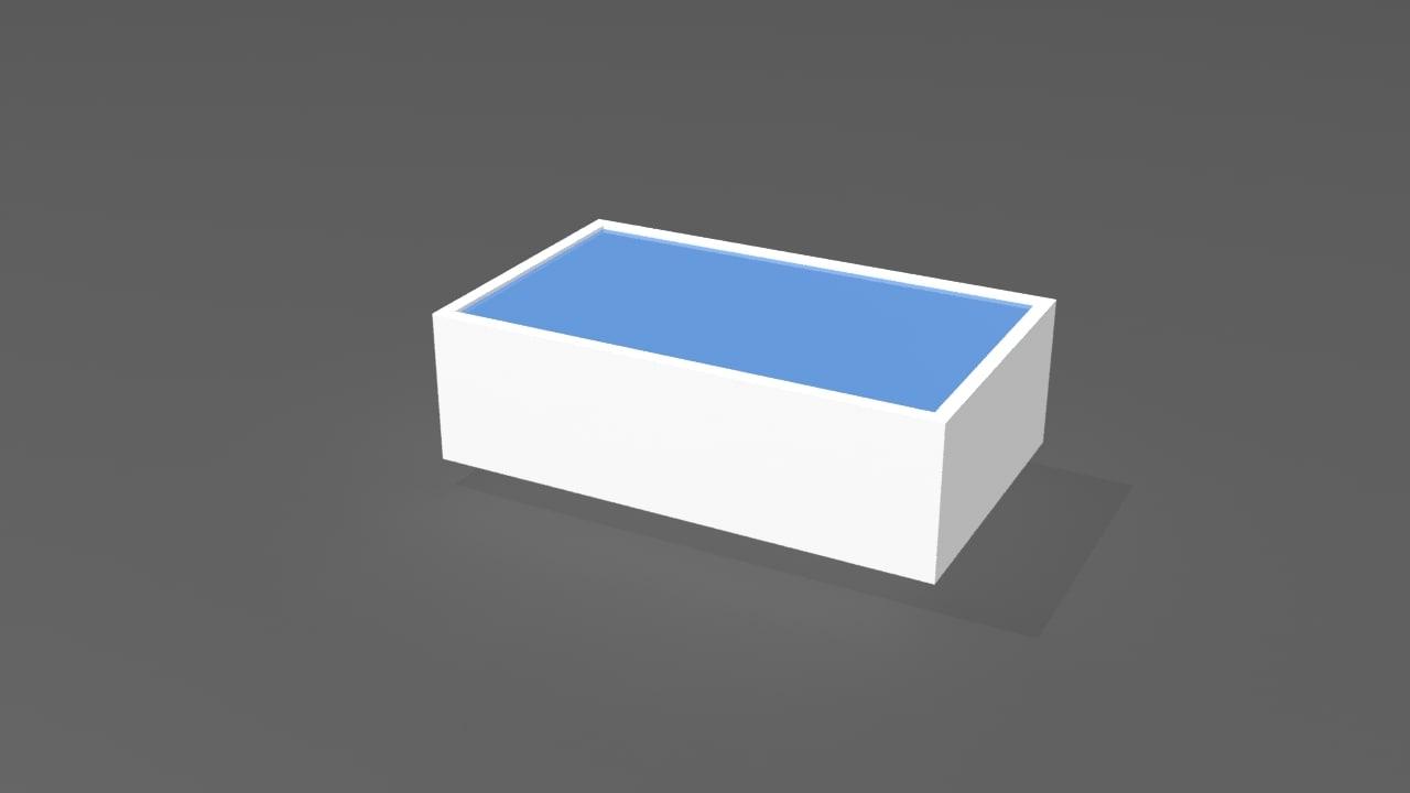 center table bars 3d 3ds
