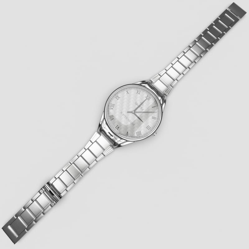 3d classic metal watch