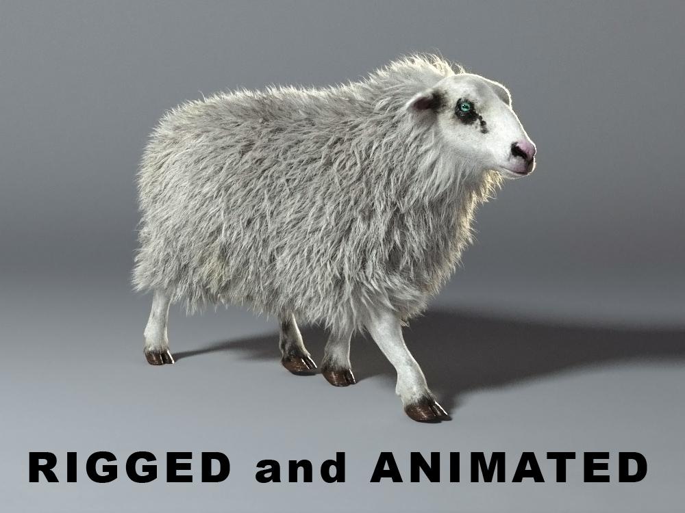 max - rigged animation