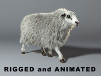Sheep - RIGGEd and ANIMATED
