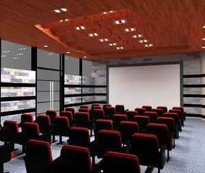 3d model presentation room