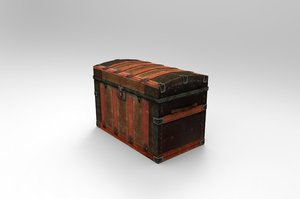 3d old trunk