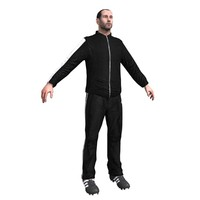 3d model soccer coach