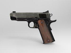 3d p pistol model