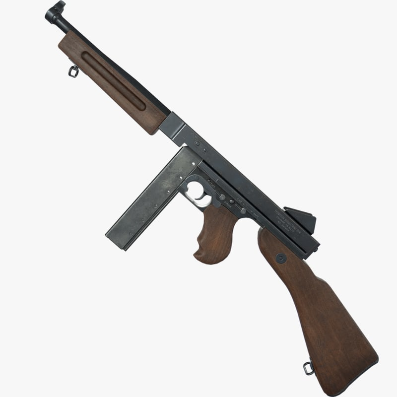 m1a1 thompson submachine gun max