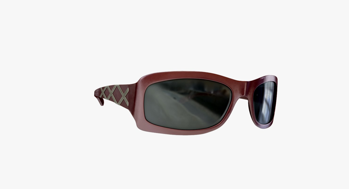 3d sunglasses ready modelled