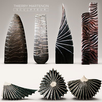 3d model sculpture thierry martenon