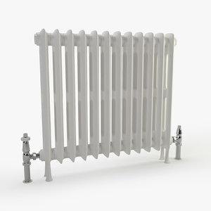 vintage radiator 3d max