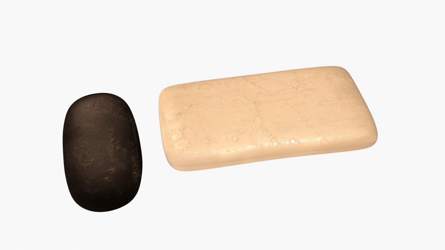 tar soap 3d model