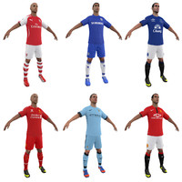 Soccer Players BPL