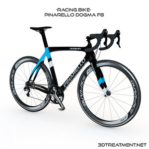 3d model pinarello dogma racing bike