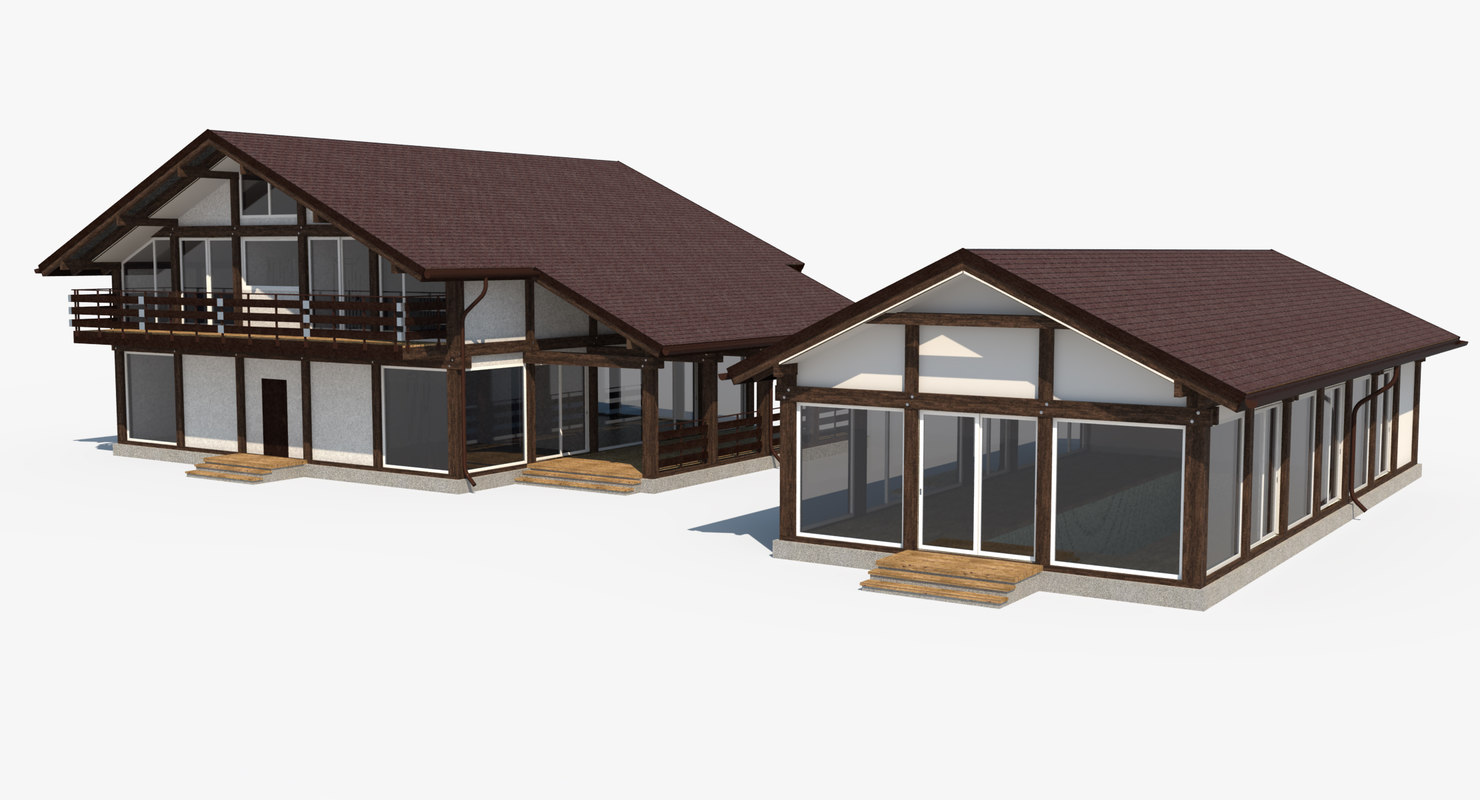 house constructions 3d max