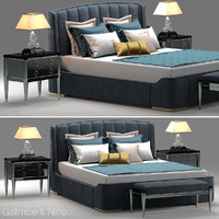 galimberti zaffiro bed 3d model