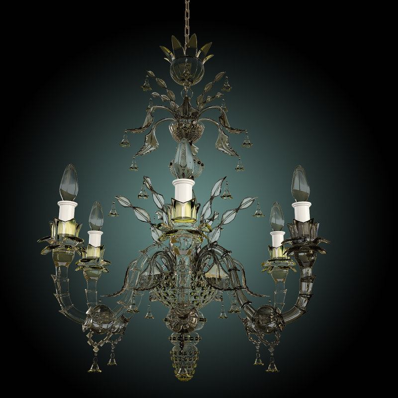 3d 3ds classic chandelier