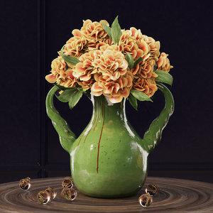 3d model pottery barn vase