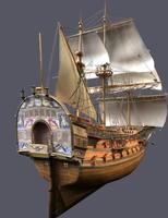 Ship Poltava 1712