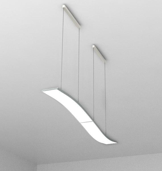 3d philips wave lamp