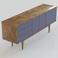 max vintage danish style sideboard