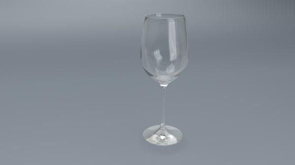 wine glass 3ds free