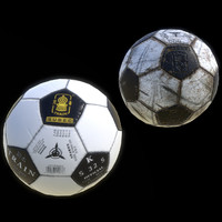 Classic Soccer Ball Low-poly