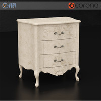 vittorio grifoni bedside table 3d max
