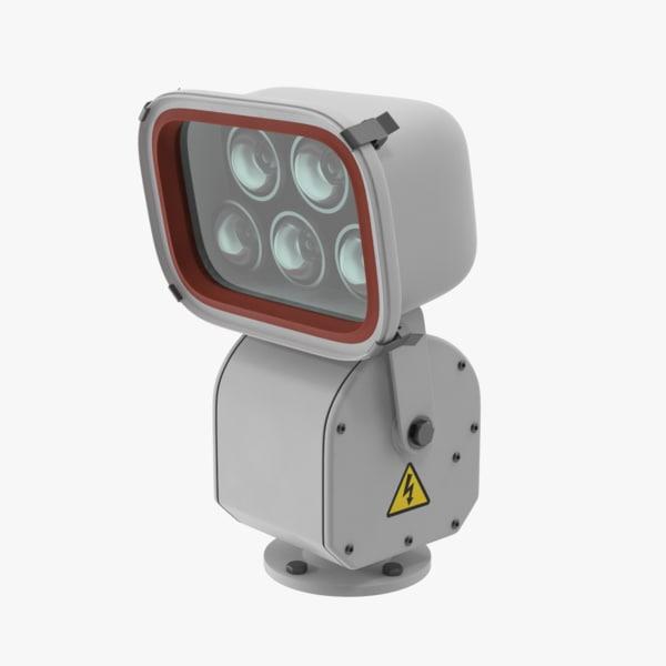 3d max floodlight lighting