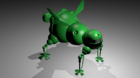 starbug red dwarf 3d model
