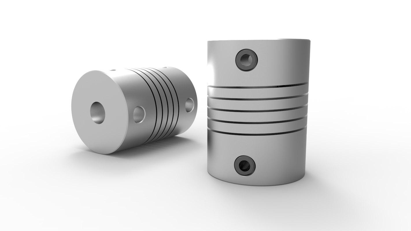 3d 6mm x 8mm flexible model