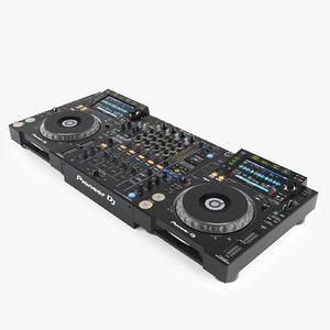 max realistic pioneer dj set