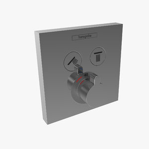 3d hansgrohe shower select