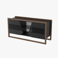 modeled bar cabinet 3d max
