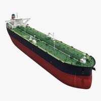 oil tanker generic 3d obj