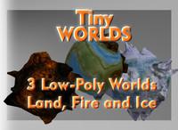 worlds land ice 3d x