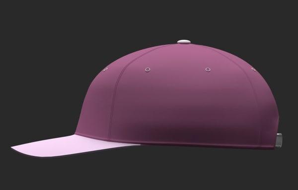 3d cap model