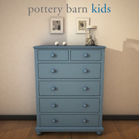 potterybarn catalinadrawerchest 3ds