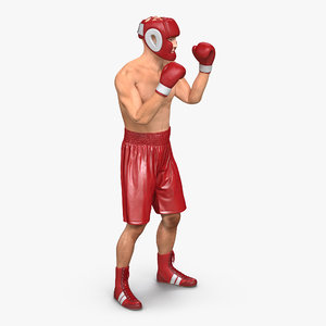 3ds boxer man pose 2