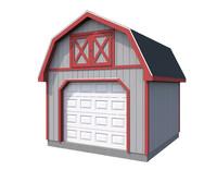 3d garage cars storage model