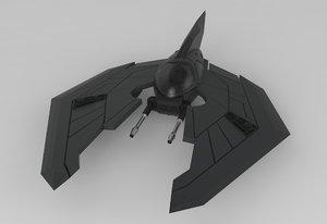 obj alien fighter