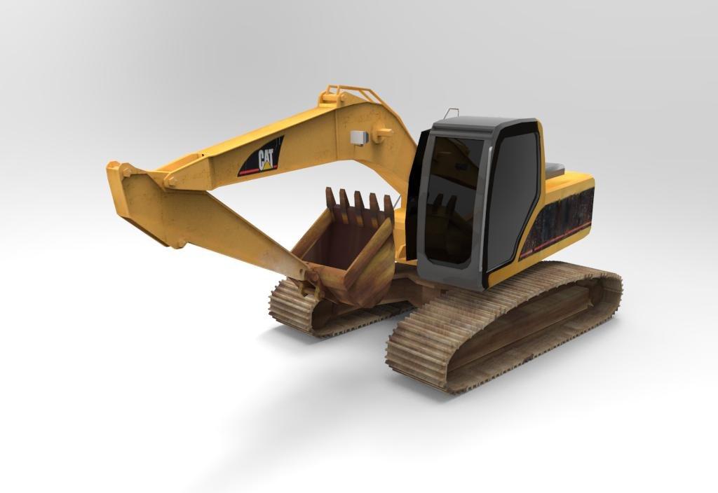 obj excavator