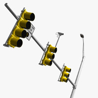 Standard US Traffic Light