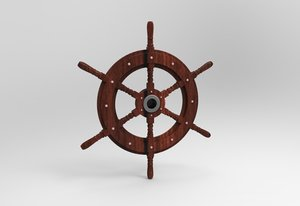 obj boat wheel captain