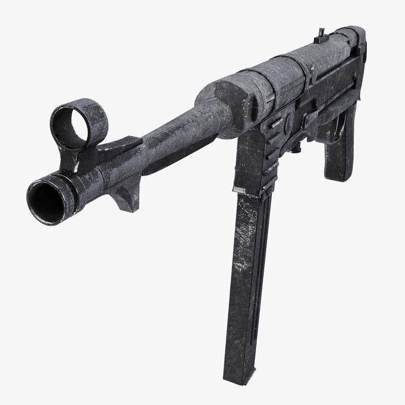 max mp40 submachine gun